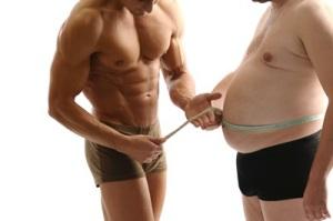 יותר שרירים פחות שומן
